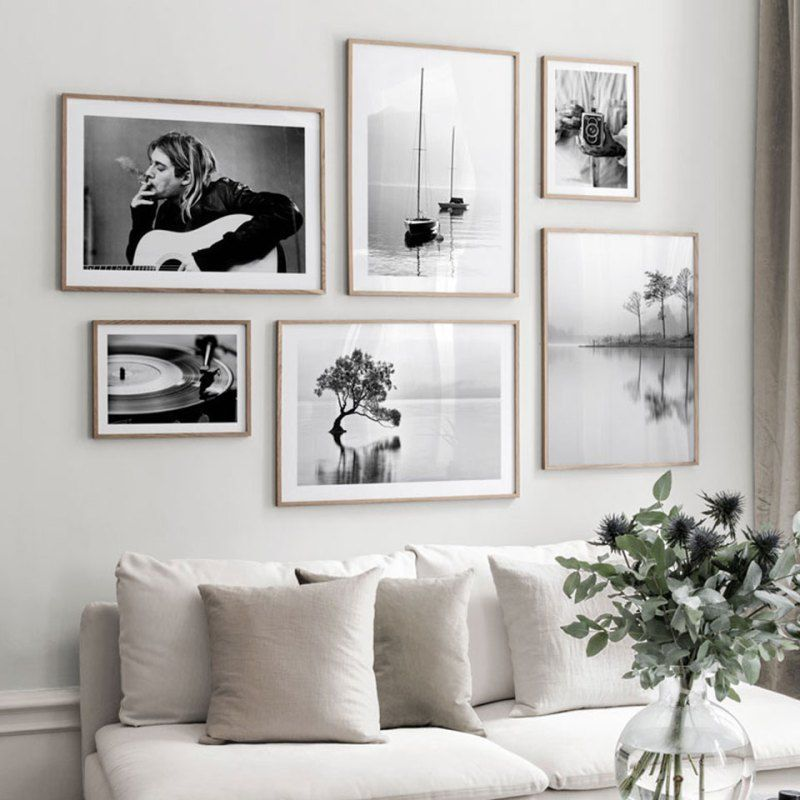 Painting Canvas Art Modern Nordic, Wall Portraits Living Rooms