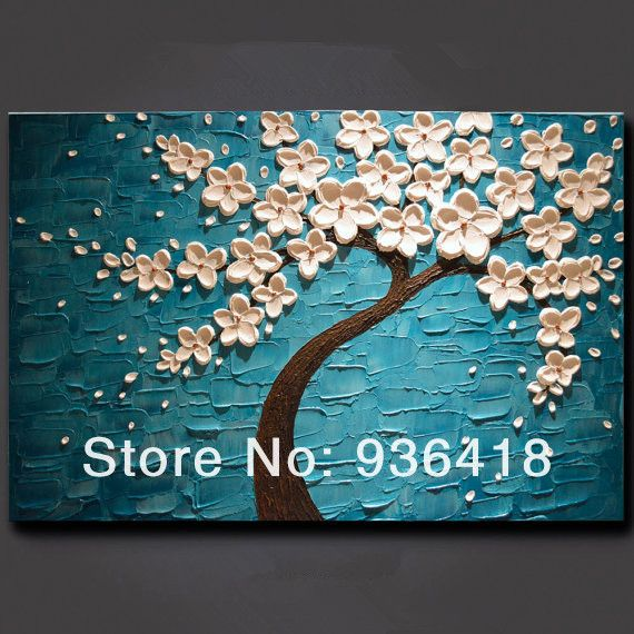 Spray Painting Ideas Part - 49: 100 Pure Hand Painted Canvas Oil Painting No Frame