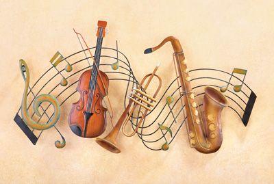 Metal Instrument And Musical Notes Wall Art From Collections Etc Music Notes Wall Art Music Metal Wall Art Art Music