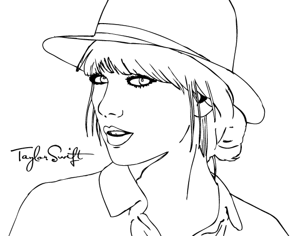 Taylor Swift Coloring Pages To Print Coloring Pages Super Coloring Pages People Coloring Pages