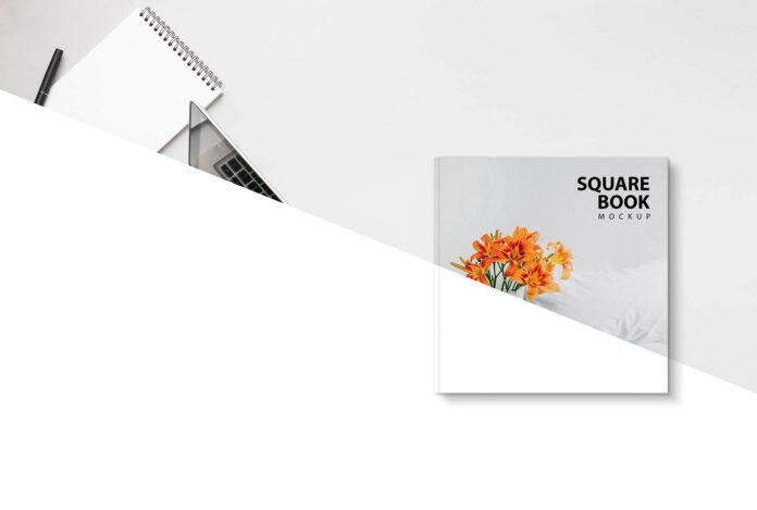Free Square Book Mockup Psd Template 3 Adobe Indesign Complete Tutorial Of Book Cover Design For Beginners Pa In 2021 Book Cover Mockup Psd Templates Book Cover Design