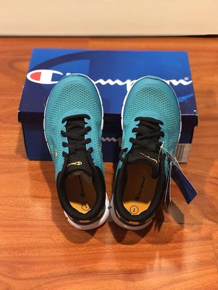 7328875a8b6d Brand New Champion Sneaker Teal Color Youth Size 1  fashion  clothing  shoes
