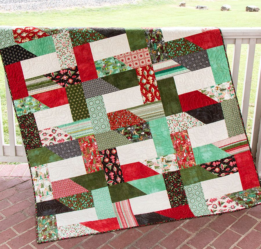 Doug Leko designed a Jolly Bar quilt for us. It's called Dovetail ... : top quilting blogs - Adamdwight.com