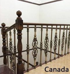 Source Private Villa Aluminum Casting Balustrades Handrails Railing For Circular…