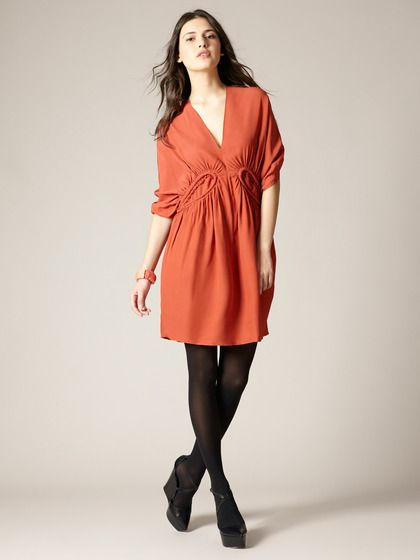 Woven Piped Waist Crepe Dress by Marni on Gilt.com