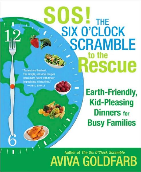 My most dog-eared, marked up cookbook ever. My good friend Aviva Goldfarb's second book. Fast recipes to get dinner on the table-- based on her popular membership site, The Six O'Clock Scramble.