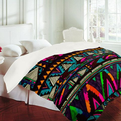 17 Best images about Tribal on Pinterest | Pink blue, Paisley print and  Duvet covers