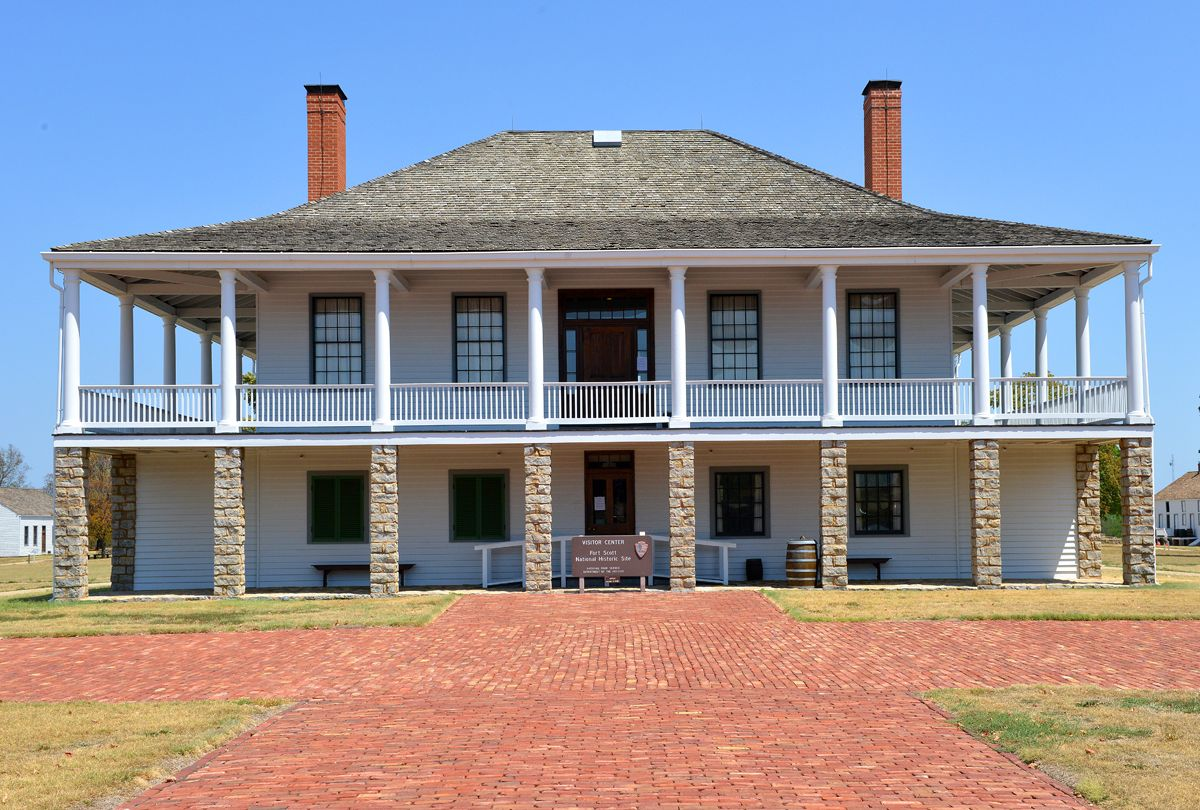 Fort Scott Ks >> Fort Scott One Of The Frontier Forts Established Along The