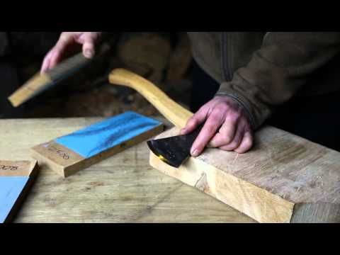 How To Sharpen An Axe A Simple Easy Technique That Will Get Your Axe Razor Sharp Wood Axe Woodworking Hand Tools Wood