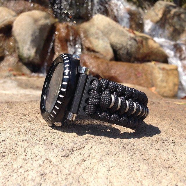 a86057e8c67 Trilotec s Trilobite for Suunto Core Military Black looks the bomb!