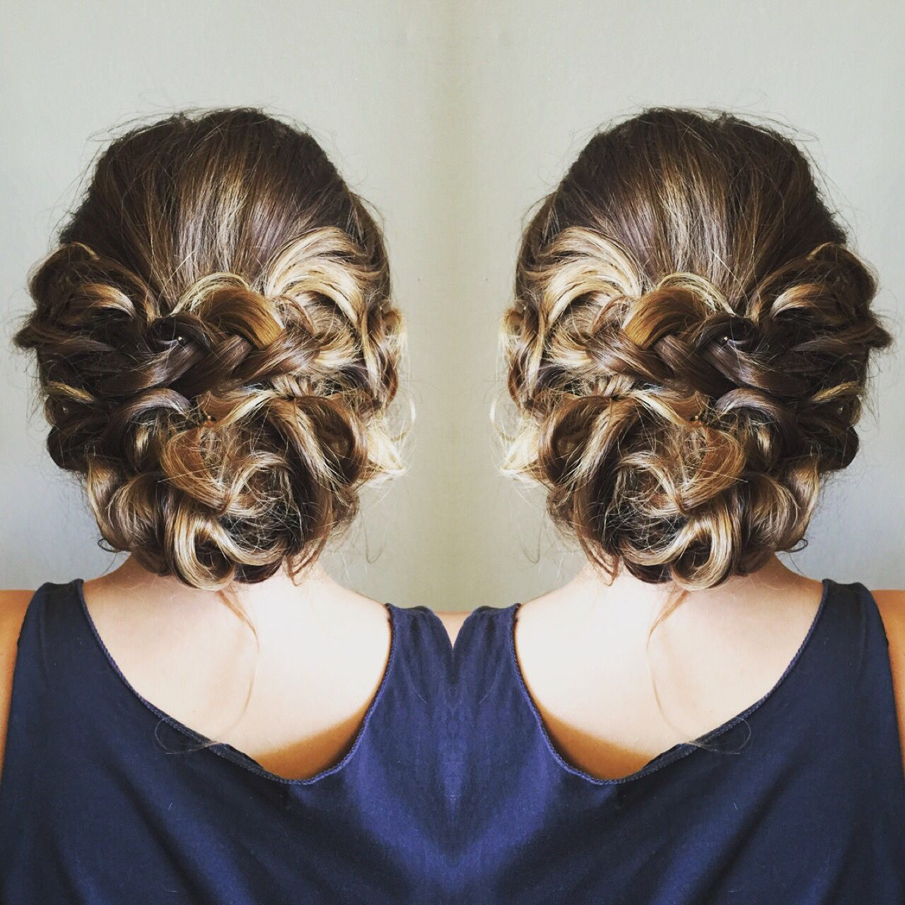 One of my hair ups.