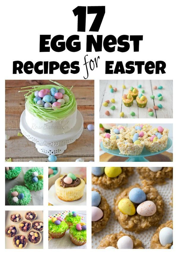 17 easy egg nest recipe ideas perfect for easter dinner and family 17 easy egg nest recipe ideas perfect for easter dinner and family gatherings negle Images