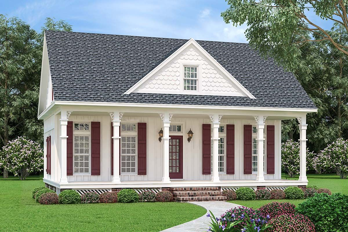Southern Style House Plan 76937 With 3 Bed 3 Bath In 2020
