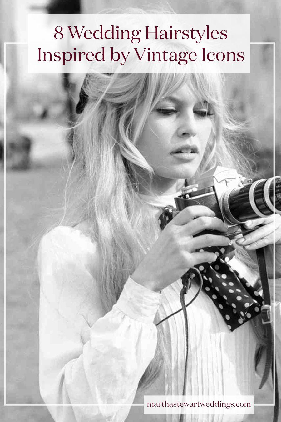 8 Wedding Hairstyles Inspired by Vintage Icons | Martha Stewart ...