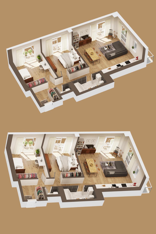 3d Floor Plan In 2020 Floor Planner Floor Plans Architecture Magazines
