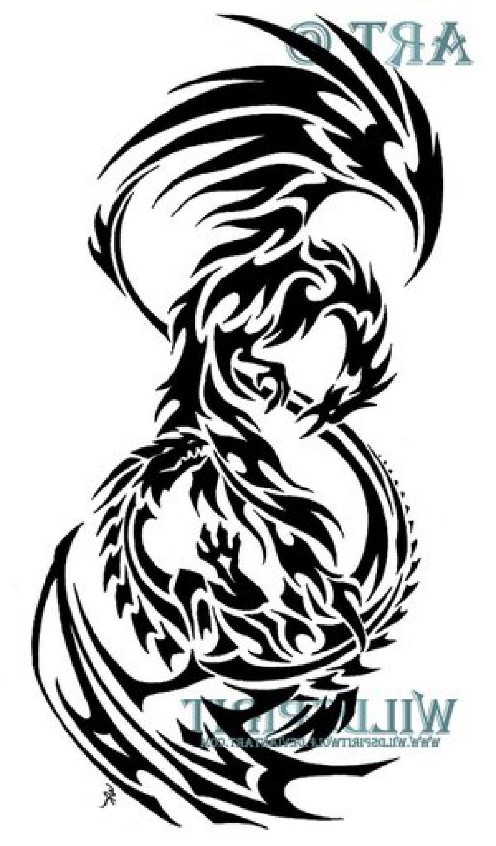 Dragon And Phoenix Tattoo Designs Tattoo Art Ideas Phoenix Tattoo Design Phoenix Tattoo Tattoos