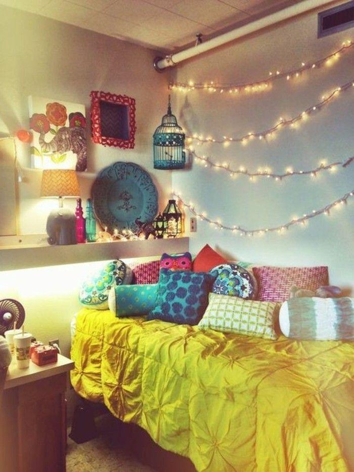 120 id es pour la chambre d ado unique ados pinterest deco chambre chambre et chambre ado. Black Bedroom Furniture Sets. Home Design Ideas