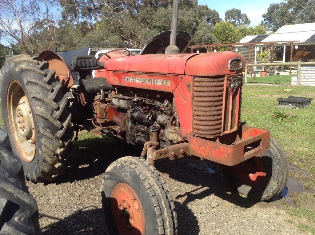 Massey Ferguson 65 Tractor Tractors Vintage Tractors Massey Ferguson