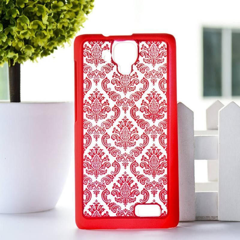 Fashion Vintage Palace Paper Cut Flower Pattern Floral Retro mobile phone skin case Cover For Lenovo A536 Elegant Back shell