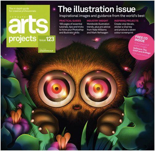 Creative Magazine Cover Page Designs 56pixels Com Illustration Art Limited Edition Art Print