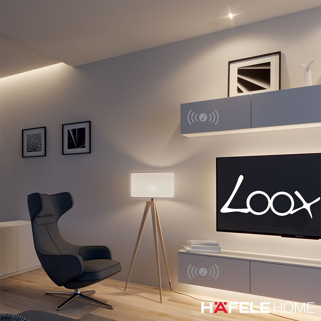 Our New Section Might Be Called Loox Lighting But Did You Know You Can Combine It With A Loox Sou Furniture Handles Home Technology Kitchen Storage Solutions