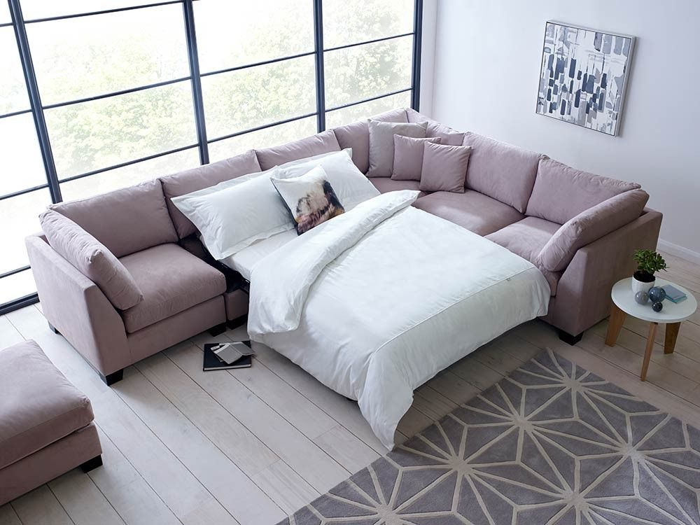 Luxury Isabelle Corner Sofa Bed Sectional The Layout Of This Sectional Sofa Can Be Customised And Arranged Sofa Bed Set Corner Sectional Sofa Sofa Bed Design