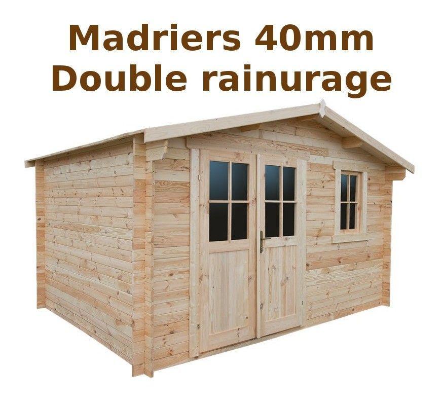 Abri De Jardin Bois Tourville 28 Mm 11 40 M 62406s941 En 2020 Abri De Jardin Bois Abri De Jardin Toiture En Bois