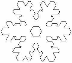 snowflake template printable easy  snowflake templates - Google pretraživanje   Snowflake ...