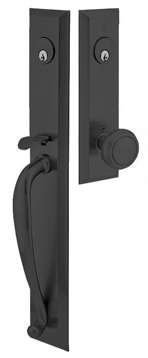 View the Emtek 4425 Jefferson Series Double Cylinder Keyed Entry