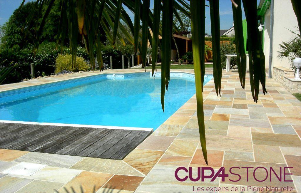 quartzite la pierre naturelle parfaite pour les margelles de piscine cupastone pierrenaturelle