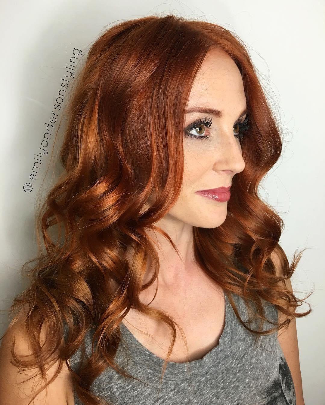 Choosing A Hair Color For Your Skin Tone Hair Color Auburn Red Hair Olive Skin Skin Tone Hair Color