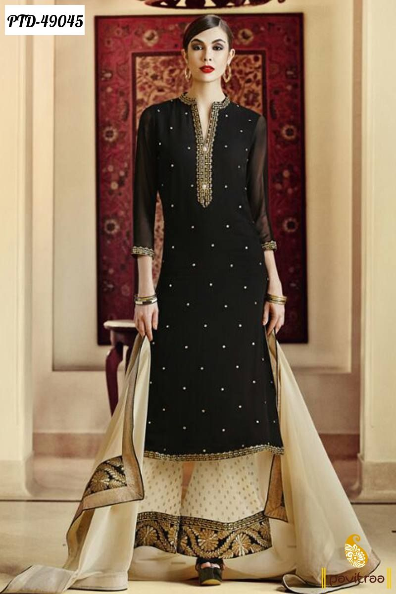 353c663dea Image result for palazzo suits   design   Salwar suits, Shadi ...