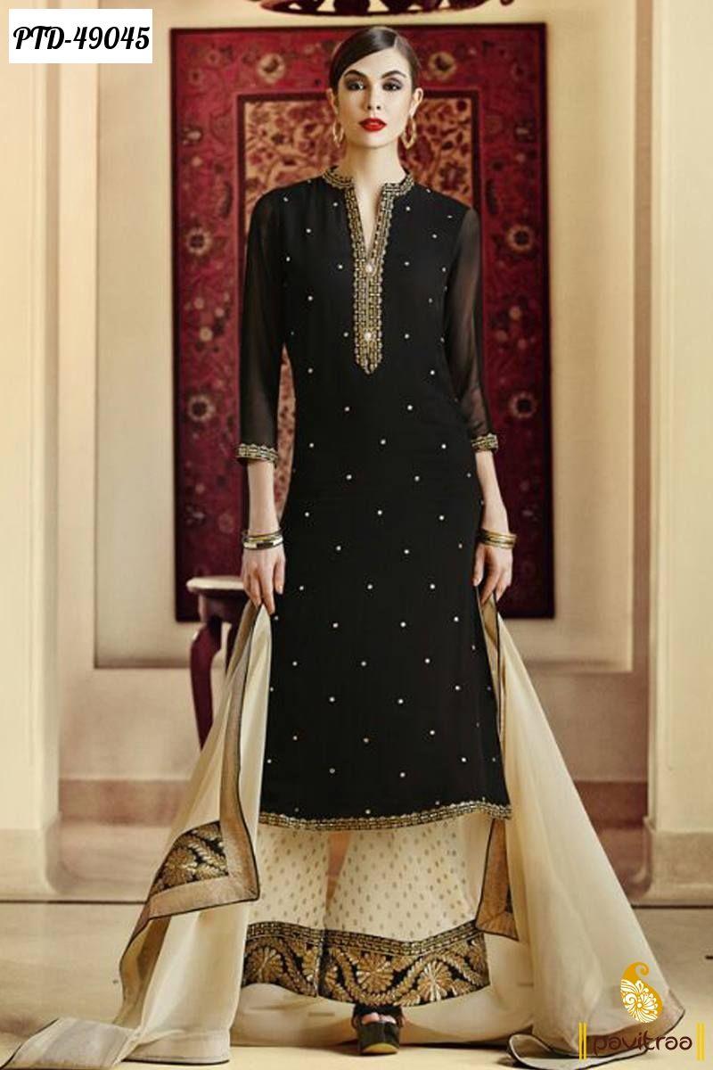 Pakistani Palazzo Salwar Suits New Arrivals at... - Sarees, Salwar ...
