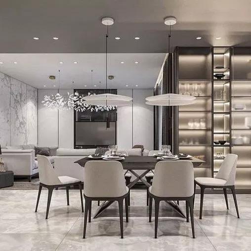 25 Best Dining Room Tiles Ideas 2019 Home Decor Journal Luxury Dining Room Dining Room Interiors Apartment Interior
