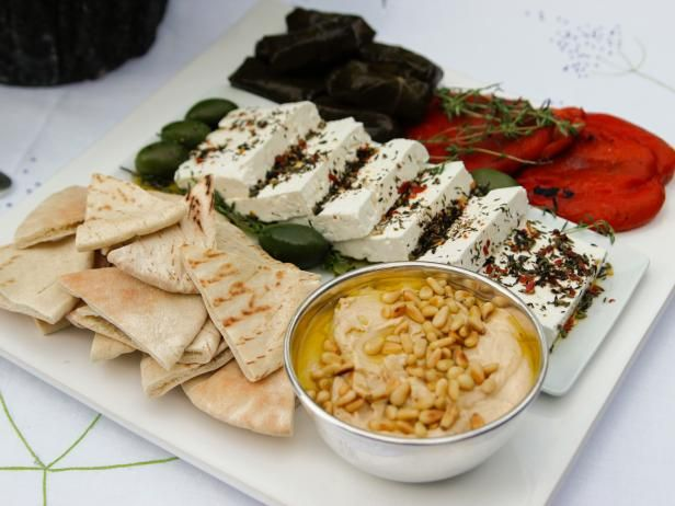 Greek Mezze Platter Recipe From Barefoot Contessa Inagarten