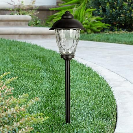 Brighten Gardens And Outdoor Spaces With This Classic Lantern Style  Landscape Lights Thatu0027s Powered By Super Efficient LEDs.
