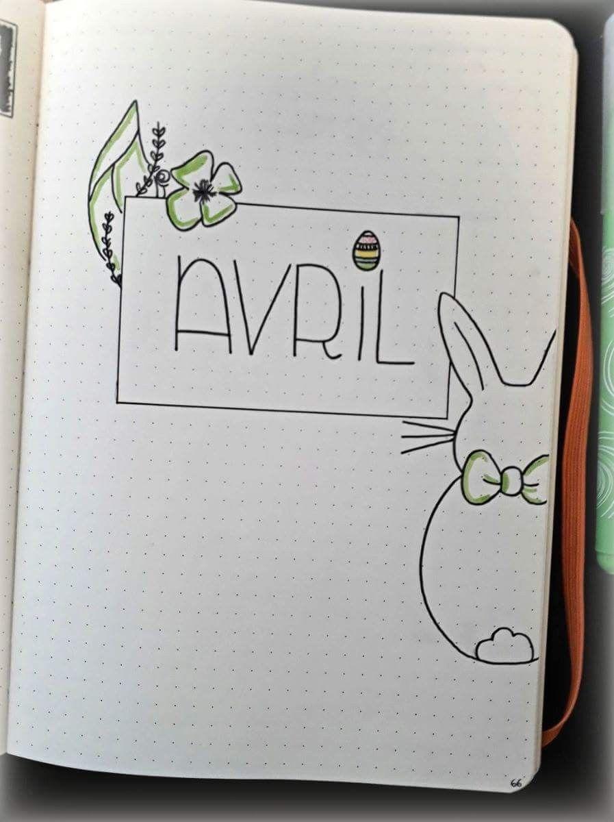 рисунок апреля для ежедневника доберманом