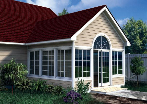 Plan 90022 Gabled Sun Room Addition Home Addition Plans Three Season Porch Room Additions