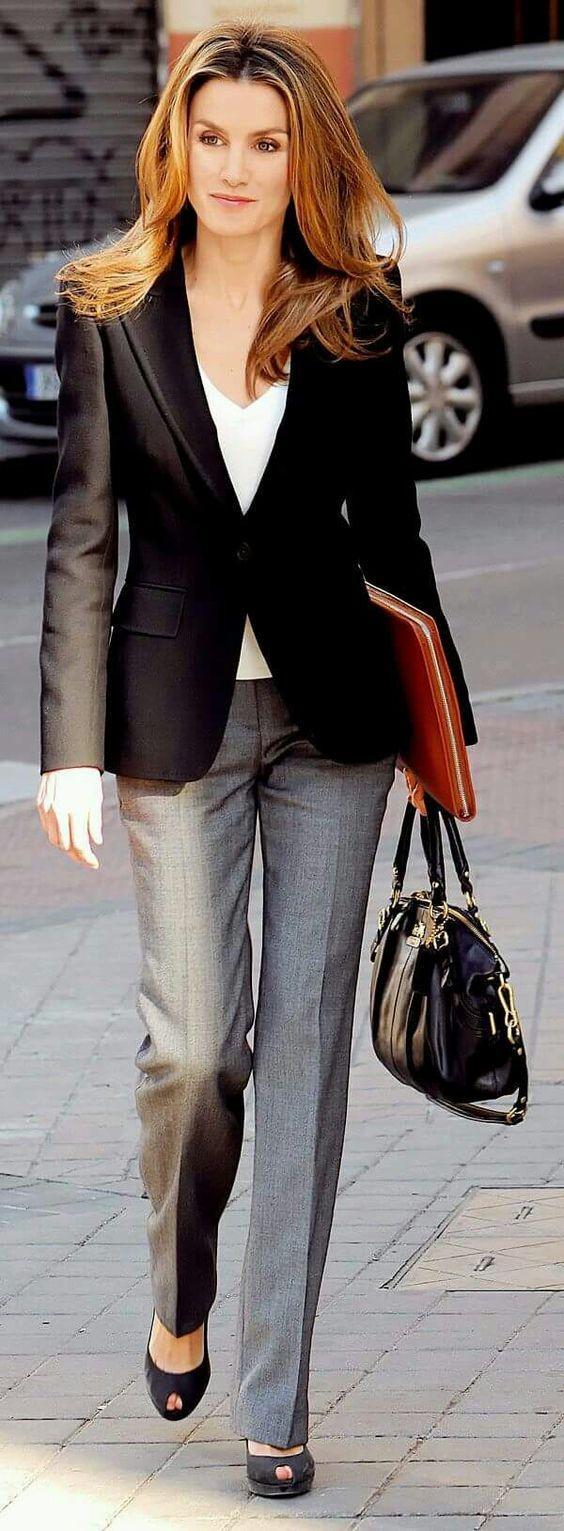 Is Kadinlari Icin 2020 Ofis Sikligi Pantolon Ceket Kombinleri Tarz Moda Moda Kadin Kadin
