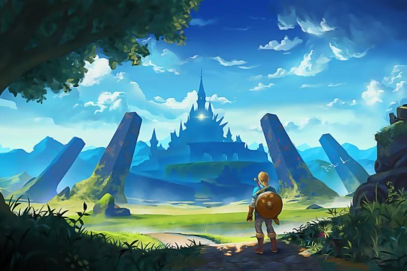 Legend Of Zelda Breath Of The Wild Wallpaper Download Free Hd Backgrounds For Desktop And Mobile D In 2020 Legend Of Zelda Breath Breath Of The Wild Legend Of Zelda