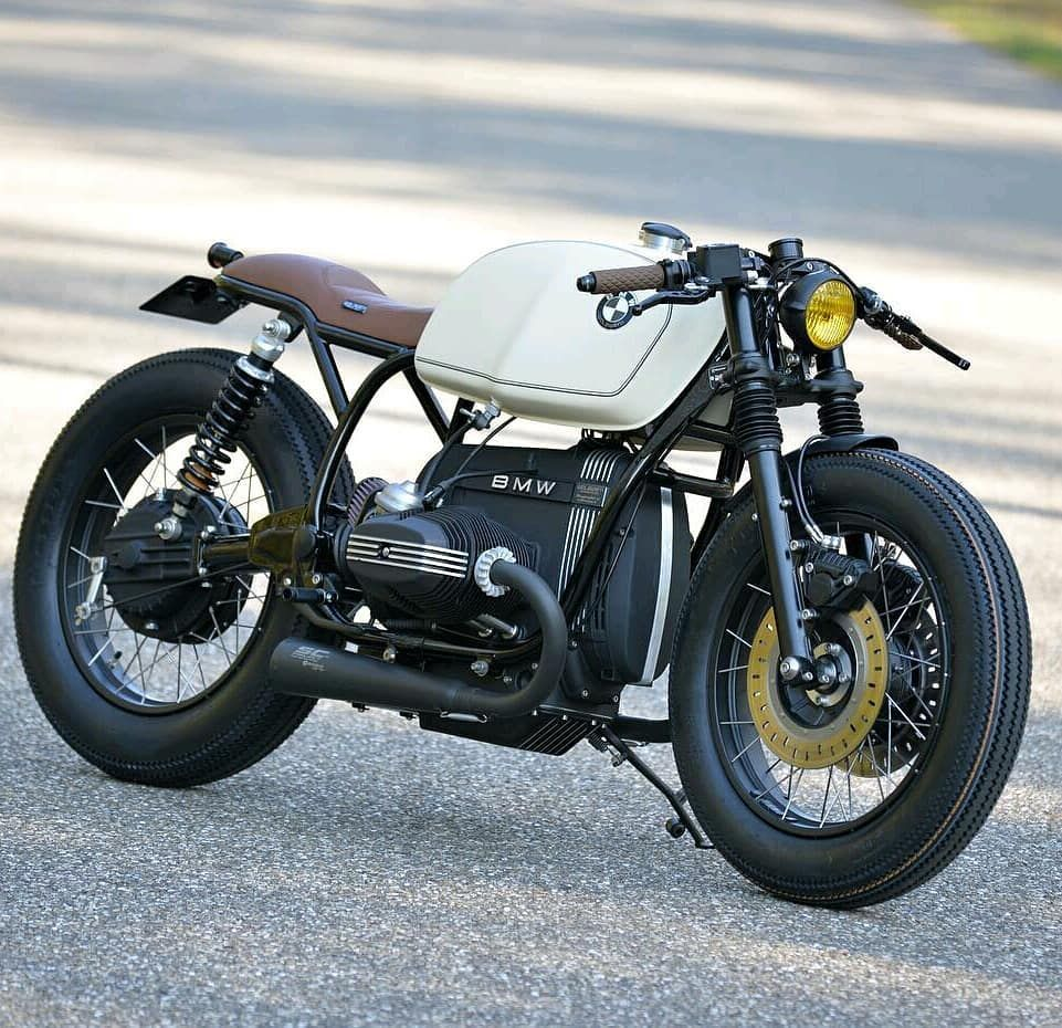The Schizzo by @walzwerk_motorcycles #bmw #caferacer #caferacerporn