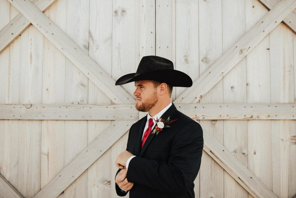 9d5d74ef1bb Western Groom from a Guide to a Chic Western Wedding on the Pinto Ranch  blog.