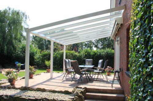 Aluminium-Überdachung + Glas 700x350 cm - Luxus-Qualität! in Hörstel - markisen fur balkon design ideen