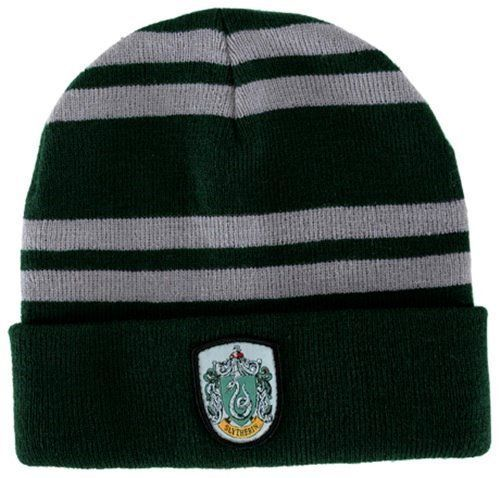 #Harry potter #house of slytherin beanie hat with #crest, new unused,  View more on the LINK: http://www.zeppy.io/product/gb/2/381519932555/