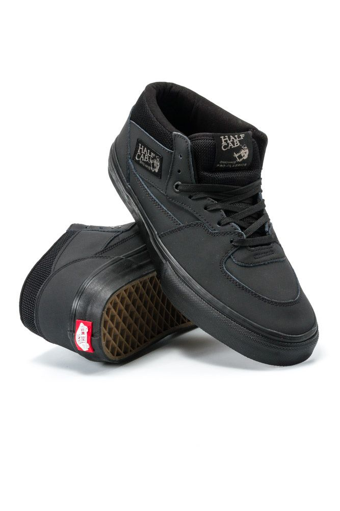 d76bf5599a Vans Half Cab Pro Blackout. Find this Pin and more on Shoes ...
