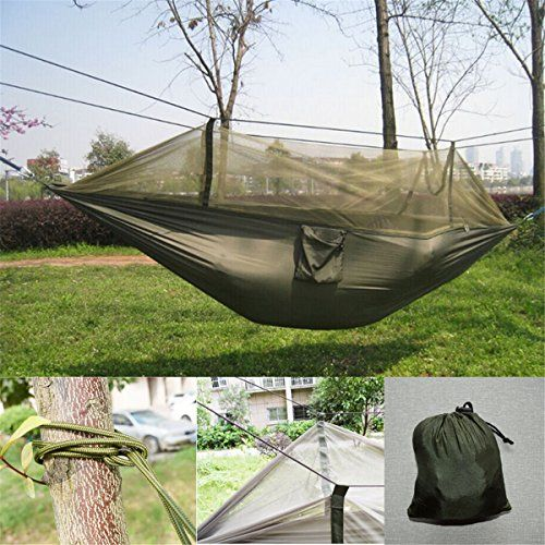 yosoo mosquito   hammock hiking hanging bed camping hammock tent for outdoor travel army green   yosoo mosquito   hammock hiking hanging bed camping hammock tent      rh   pinterest