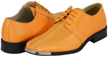 peach dress shoes men