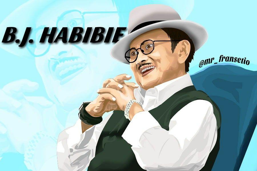 vexel vexel art photoshop habibie bjhabibie vector presiden presiden pinterest