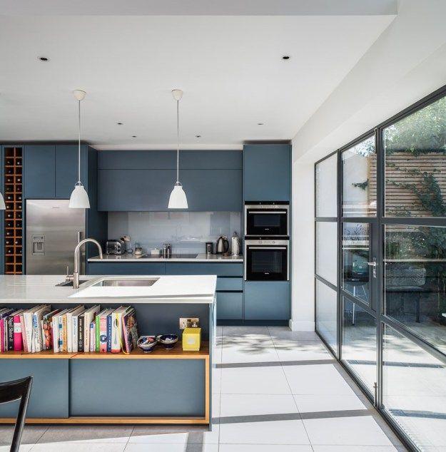 Slot House by AU Architects - MyHouseIdea kitchen Pinterest