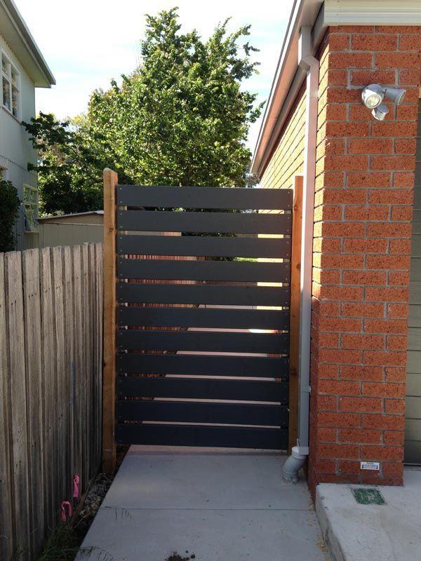 Image Result For Metal Gate Slat Black Metal Garden Gates